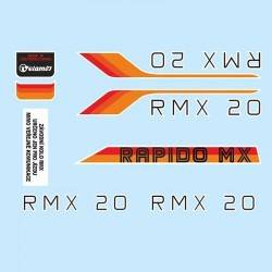 samolepka na kolo-rámový polep RMX 20