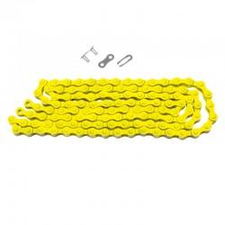 řetěz KMC Z410 1/2 x 1/8, 116 čl., žlutý