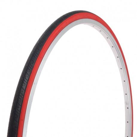 """plášť 27"""" (32-630) Deli S140, černý+červené boky"""