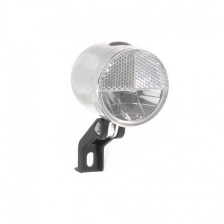 světlo přední 1xLED Nero retro chrom