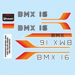 samolepka na kolo-rámový polep BMX 16