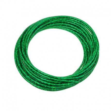 bowden brzdový, 5 mm, zelený lesklý