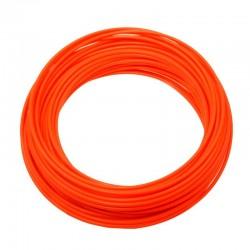 bowden brzdový, 5 mm, oranžový Fluo
