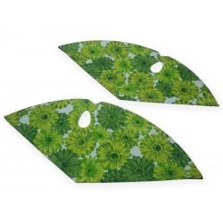 """zadní kryt Flowers 28"""" Green"""