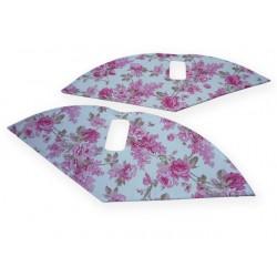 """zadní kryt Flowers 28"""" Pink"""